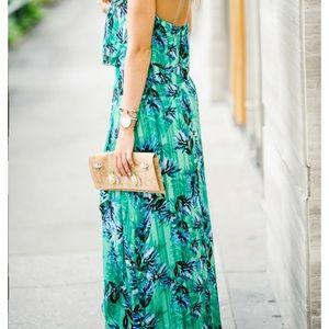 NWT banana republic palm floral dress